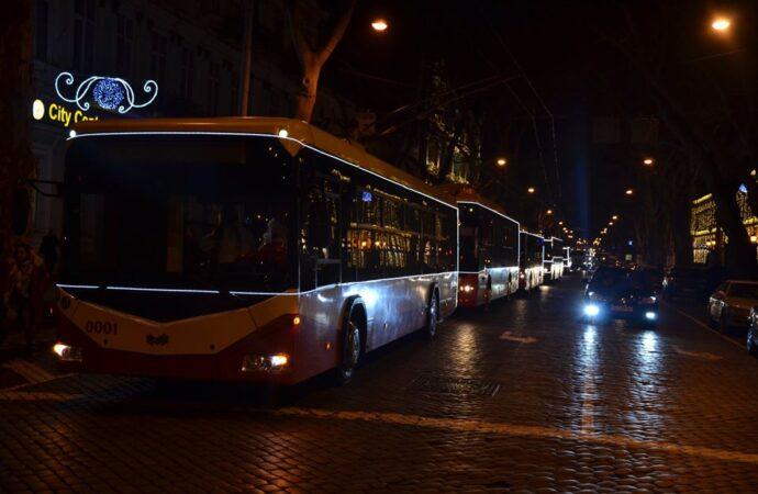 Парад трамваев и троллейбусов в Одессе: горожанам готовят праздничные сюрпризы