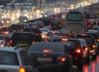 Пробки в Одессе: где сложно проехать в предновогодний вечер? (карта)