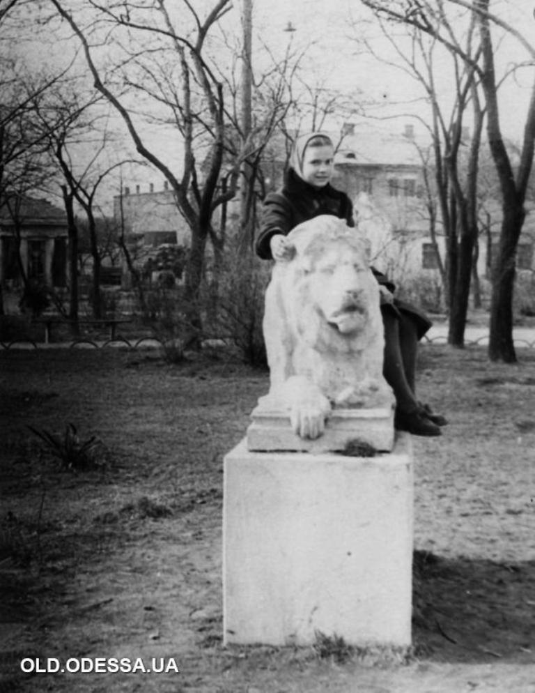 сквер Мечникова, фото 50-х годов