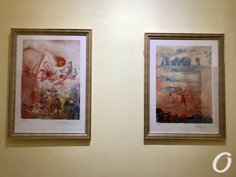 выставка, Сальвадор Дали