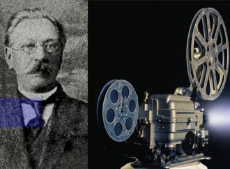 Первый киноаппарат был создан в Одессе