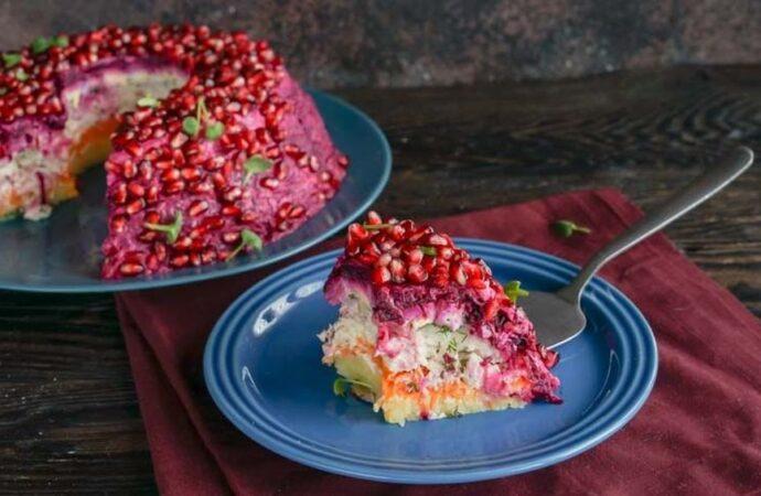 """Вкусно с """"Одесской жизнью"""": салат «Гранатовый браслет»"""