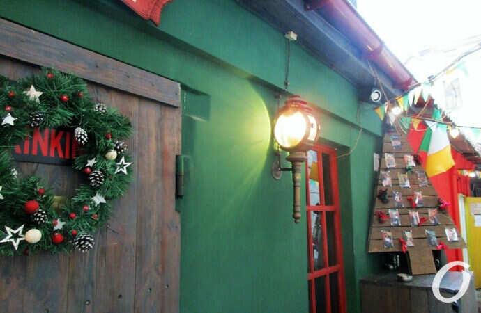Таинственная Одесса: зима на безымянной улочке (фото)