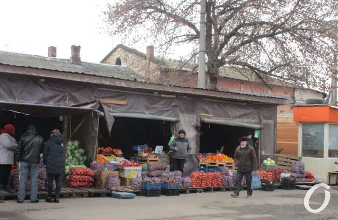 Одесская «торговая площадь» рядом с Привозом никуда не делась (фото)