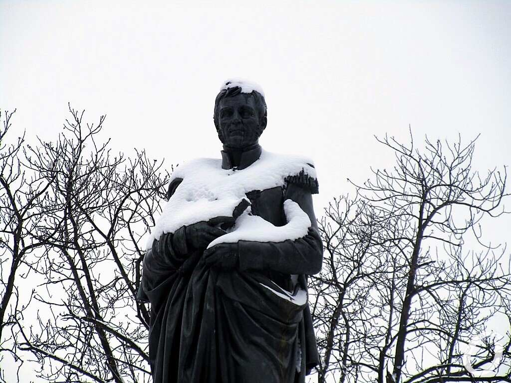 Воронцов под снегом