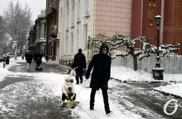 Погода в Одессе 13 февраля: морозно и скользко