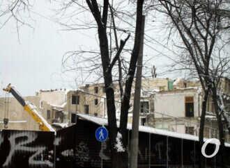 Демонтаж одесского дома на Торговой идет полным ходом – что будет на его месте? (фото)
