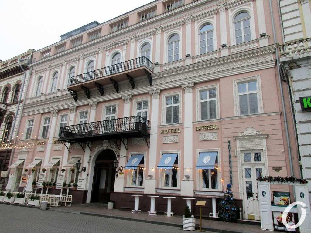 Приморский бульвар, дом №10, фасад