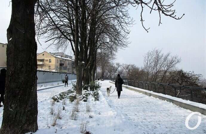 Крещенские морозы: где в Одесской области холоднее всего (инфографика)
