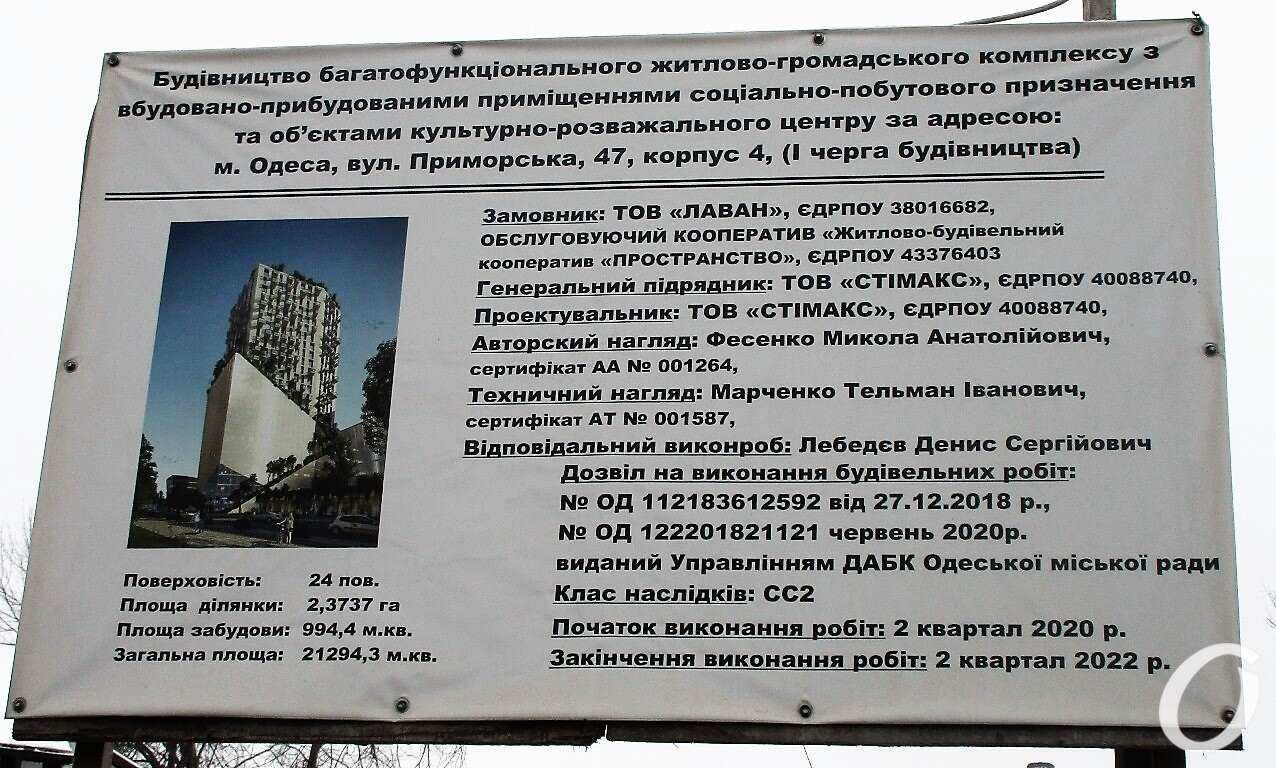 что строится в Одессе на Софиевской