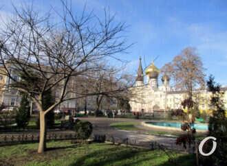 Одесский сквер Пушкина: круглый, труднодоступный, с фонтаном и львами (фото)