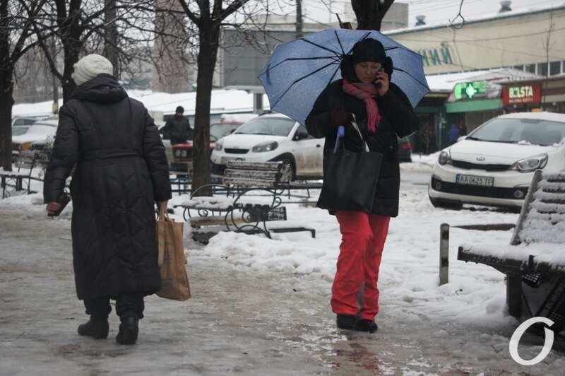 одесситка под зонтиком