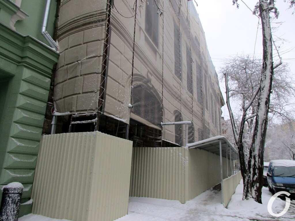 Дом Гоголя, драпировка