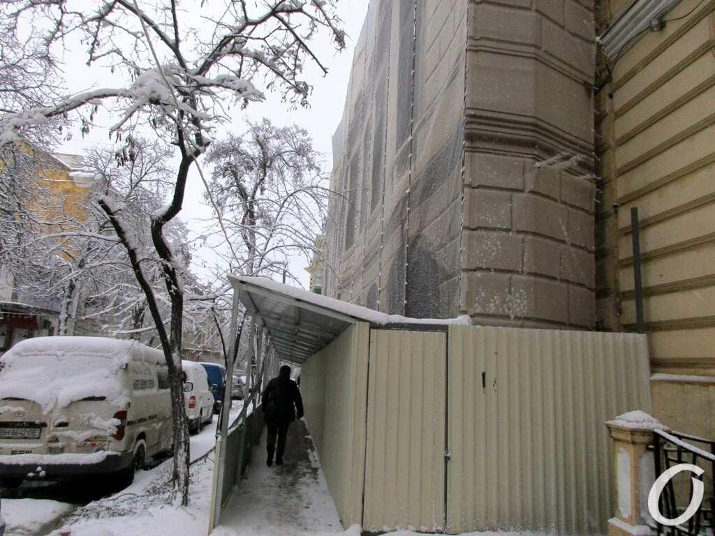 Дом Гоголя, проход