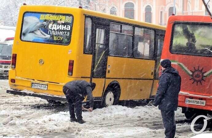 """Пробки в Одессе: киевская трасса закрыта, на улицах """"тянучки"""" (карта)"""