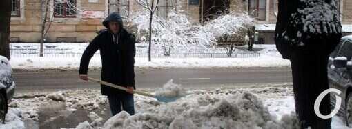 Погода в Одессе 12 февраля: снег и метель