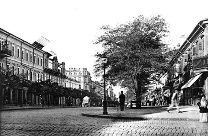 Дерибасовская сквозь годы: редкие виды главной улицы Одессы (фото)