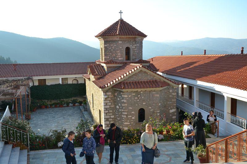 греция монастырь