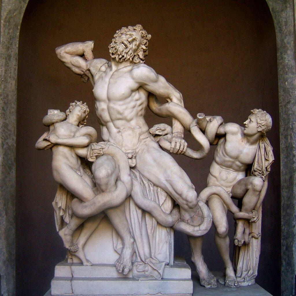 лаокоон копия античной скульптуры