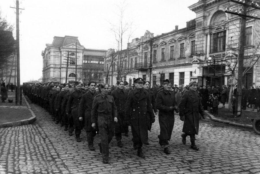 одесский транзит 1945