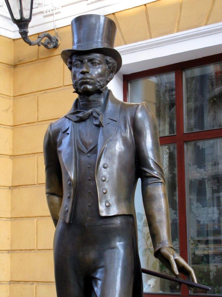 скульптура пушкина одесса