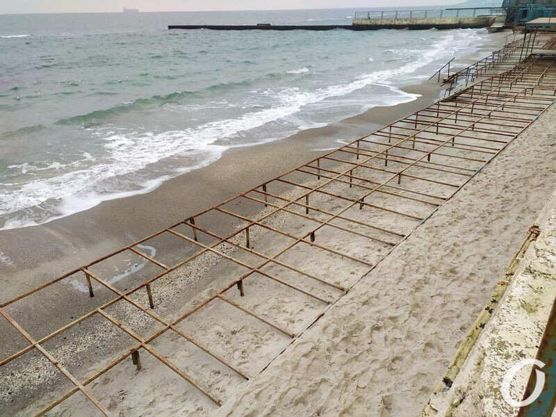 постройки на пляжах одесса