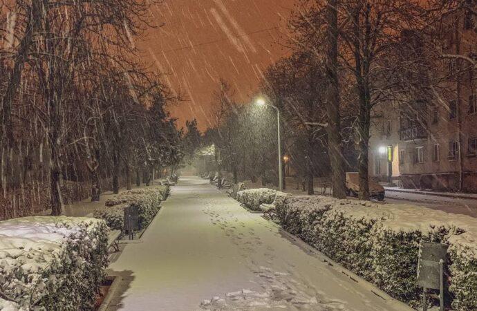 Одесскую область занесло первым снегом 2021 года: фото