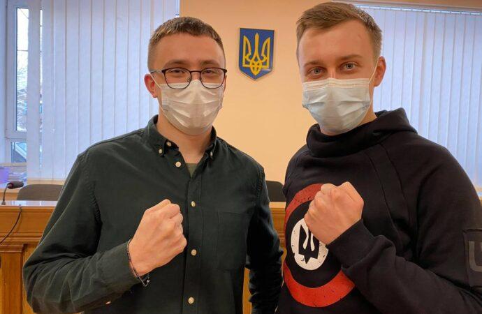 Суд отменил ночной арест одесского активиста Стерненко и передал его на поруки депутату