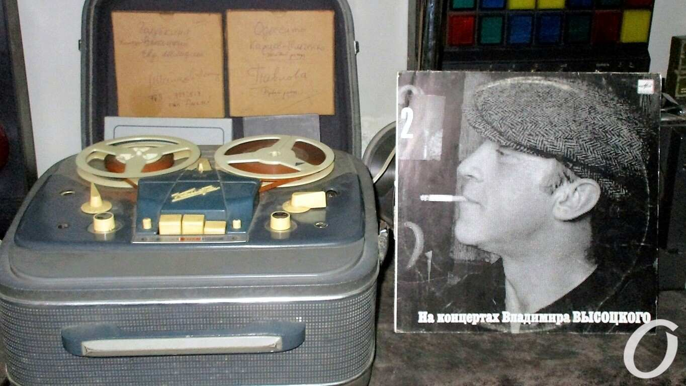 Высоцкий и Одесса, музей звука