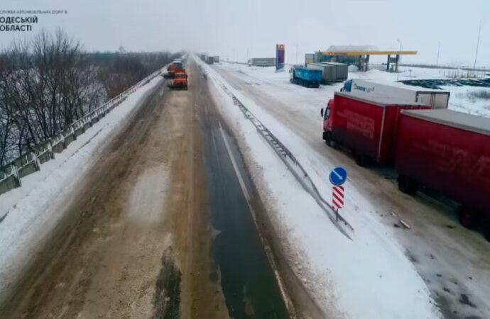 Все дороги Одесской области открыли для проезда