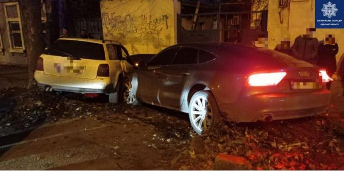 В Одессе произошло массовое ДТП, есть пострадавшая (фото)
