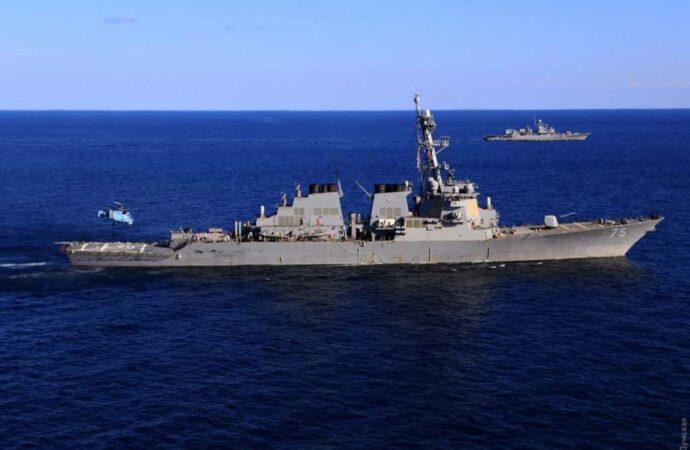 В Черное море вошел первый в этом году корабль НАТО