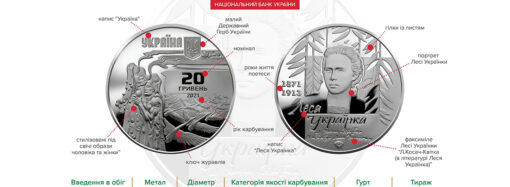В Украине выпустили новую памятную монету