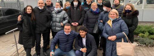 В Украину вернулись четверо моряков после 5-летнего заточения в ливийской тюрьме (видео)