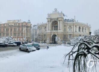 Одесский оперный театр приглашает на «Зимний променад»