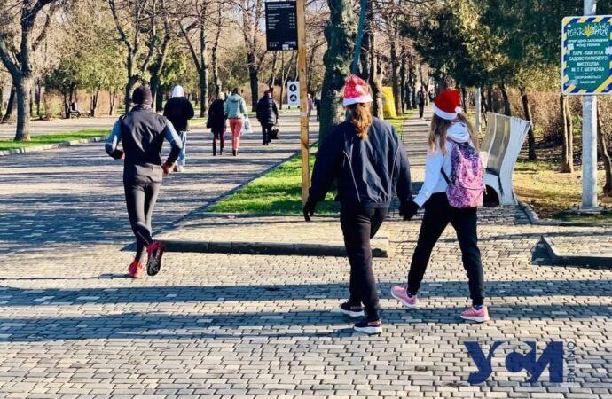 Одесситы устроили пробежку ради исполнения желаний (видео)
