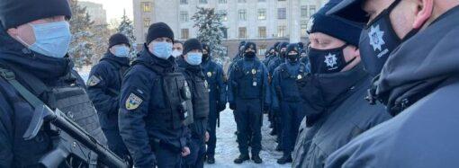 Перед 2 мая: одесским Нацгвардейцам прислали подкрепление из Киевской области
