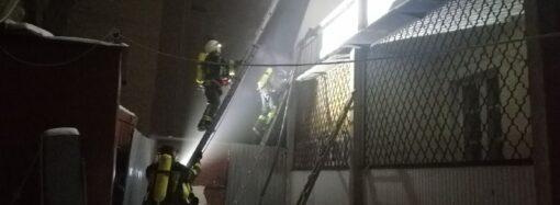 В Одессе горело общежитие Юридической академии