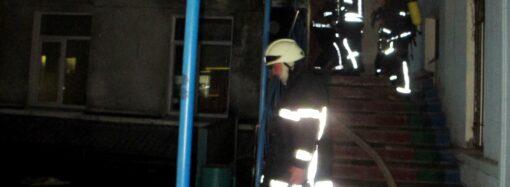 В Одессе от пожара спасли больницу