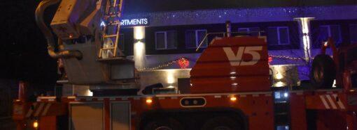 Пожар в одесском отеле Arcadia Apartments: в ГСЧС сообщили о двоих погибших