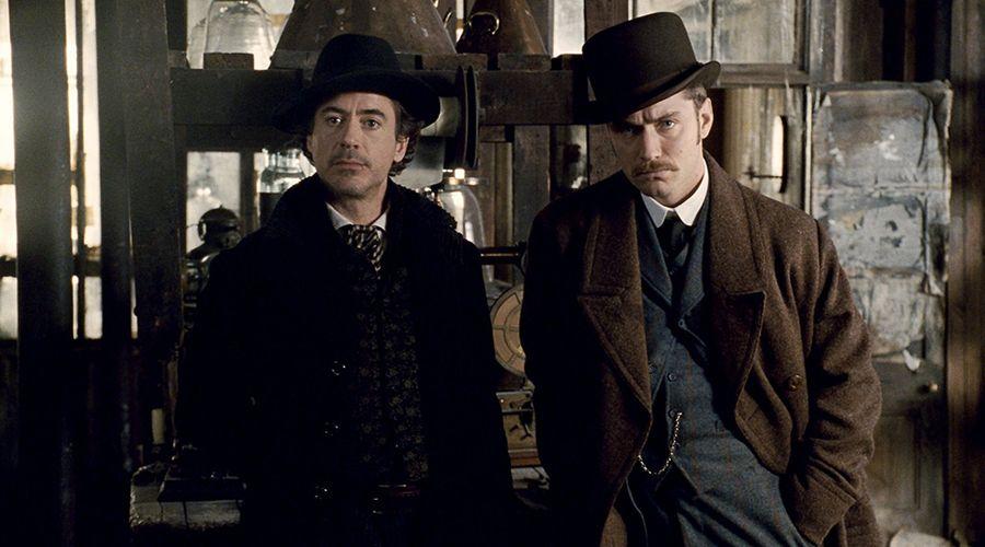 шерлок холмс с джудом лоу