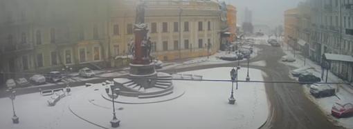 Погода в Одессе 28 января: мокрый снег, метель, гололедица