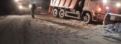 В Одесской области открыли движение транспорта на дорогах госзначения – полиция