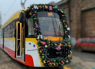 Рождественский парад трамваев в Одессе перенесли из-за погоды