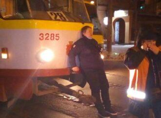 В Одессе автохам избил водителя трамвая: обнародовано видео нападения (видео)