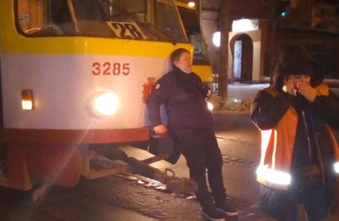 В Одессе избили водителя трамвая – полиция открыла уголовное производство (видео)