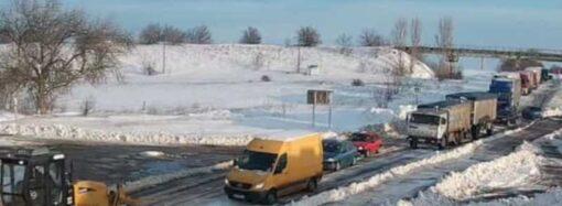 Проезд по трассе Одесса – Кучурган открыт для легковых авто