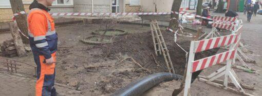 «Инфоксводоканал» начал замену водопровода на улице Генерала Петрова