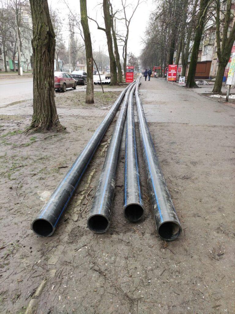 инфоксводоканал замена водопровода