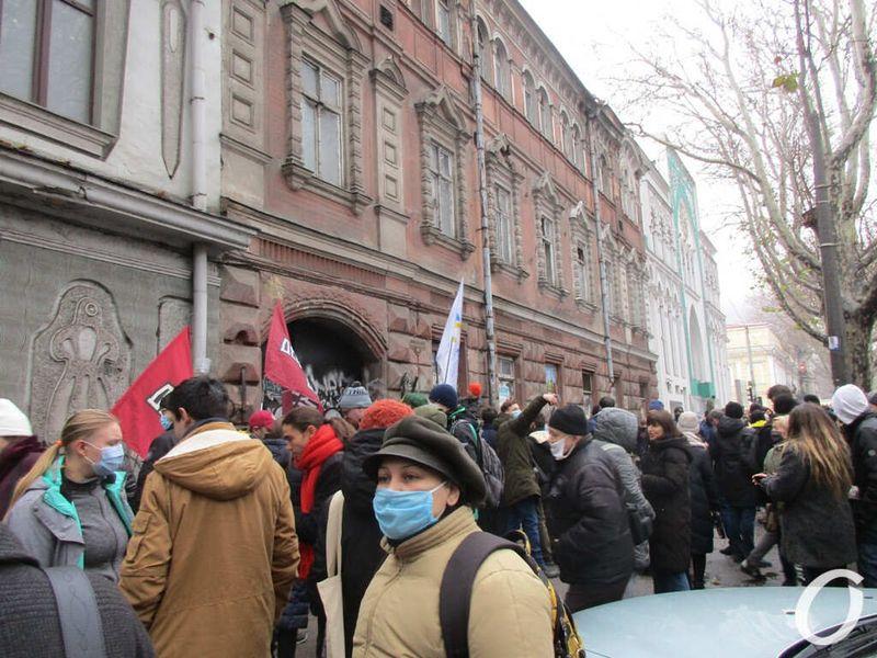 митинг против сноса типографии фесенко